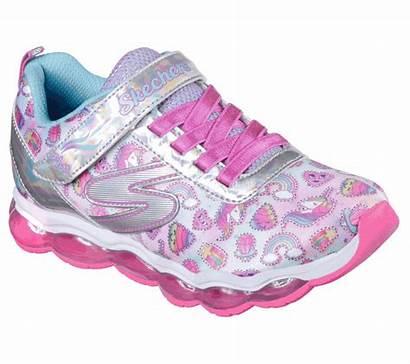 Sparkle Lights Glimmer Dreams Skechers Shoes Silver