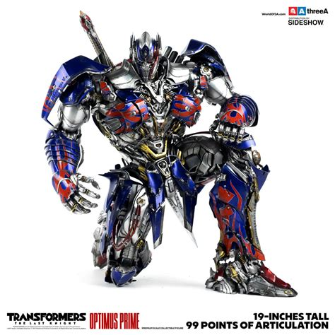 transformer optimus prime transformers optimus prime collectible figure by threea toys sideshow collectibles