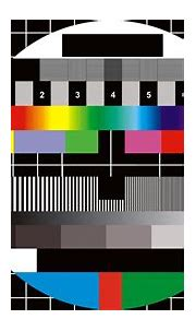 Digital Art, Monoscope, Numbers, TV, Squares, Circle, Grid ...
