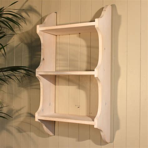 3 Tier Shabby Chic Deep Shelf 9 The Good Shelf Company