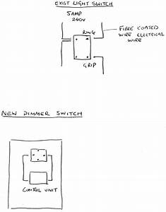 Fitting Dimmer Switch To Old Electrical Wiring - Electrical