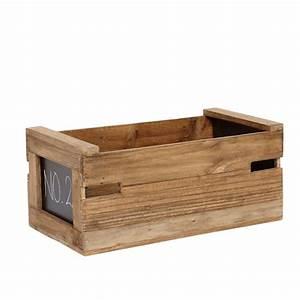 Tafel Zum Beschriften : ablagebox mit tafel zum beschriften holz natur 0001587 ~ Sanjose-hotels-ca.com Haus und Dekorationen