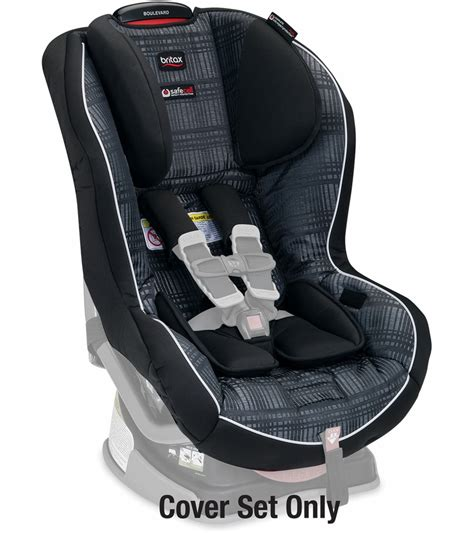 britax boulevard convertible car seat cover set domino