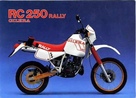 gilera rc 250 rally specs 1985 1986 autoevolution