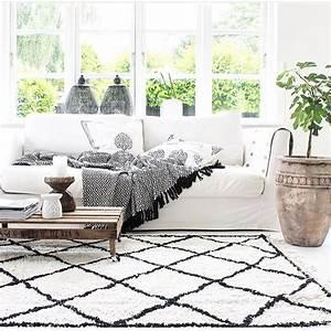 tapis berbere osl 120 x 160 cm decoration d39interieur With tapis berbere avec canapé showroom
