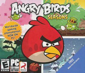 angry birds seasons rovio app  pc windows xpvista