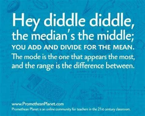 range median and mode median mode range math