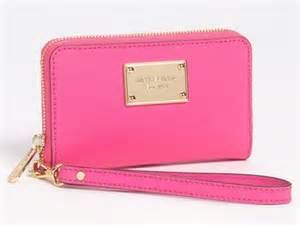 iphone 5 wristlet michael michael kors saffiano leather iphone 5 wristlet