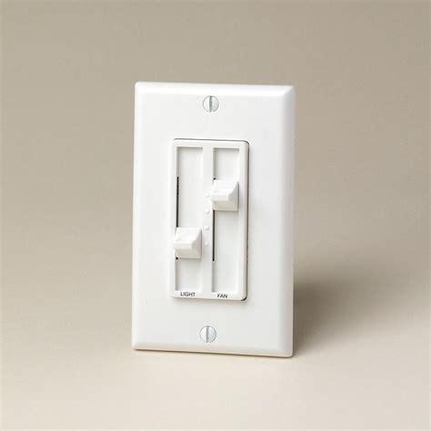 fan light dimmer switch leviton sureslide 1 5amp 300 watt dual quiet fan speed