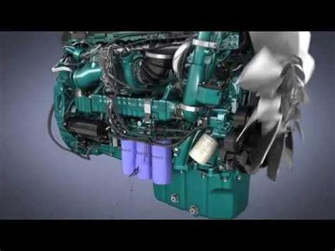 volvo trucks oil filter system youtube