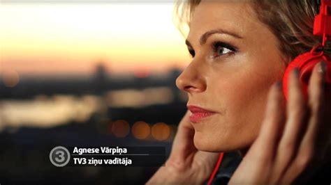 TV3 ziņas. Agnese Vārpiņa - YouTube