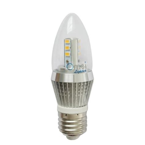 dimmable 5w led candle bulb led candelabra light bulb