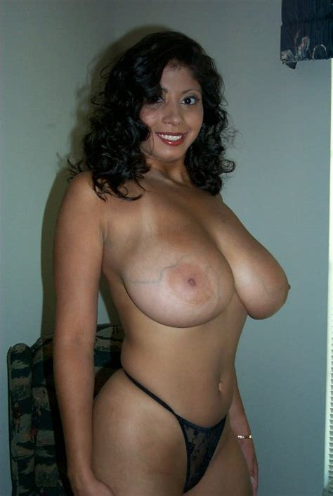 Sexy Latina Wifey With Very Huge Tits