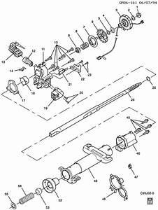 Chevrolet Cavalier Steering Column  Standard