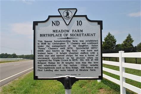Meadow Farms Birthplace Of Secretariat Virginia