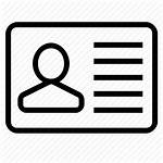 Icon Registration Account Profile Icons Data 512px