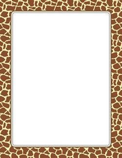 Jungle Safari Leopard Animal Print Wallpaper Border - giraffe print border paper giraffe giraffe print