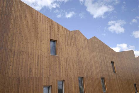 Wood Cladding by Thermo Wood Timber Cladding Supplier Uk Corell Timber