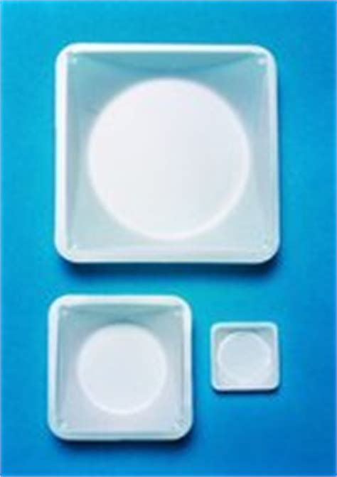 Weighing Boat Sigma by Disposable Polystyrene Weighing Dishes White L 215 W 215 H 86