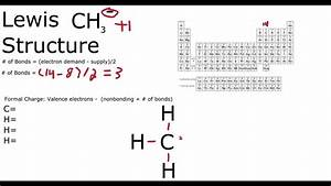 Ch3- Lewis Structure Methyl Anion