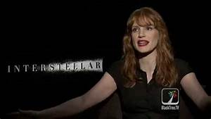 Jessica Chastain INTERSTELLAR interview - YouTube
