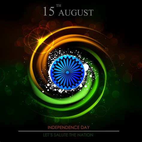 India Independence Day Latest Flag August 15Th 1947 3D4K