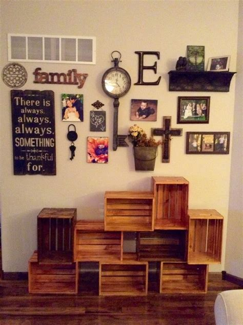 21 posts related to bedroom wall decor ideas pinterest. Awesome Wall Decorations Pinterest #4 Diy Living Room Wall ...