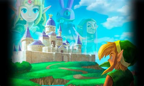 Análisis The Legend Of Zelda A Link Between Worlds (nintendo 3ds
