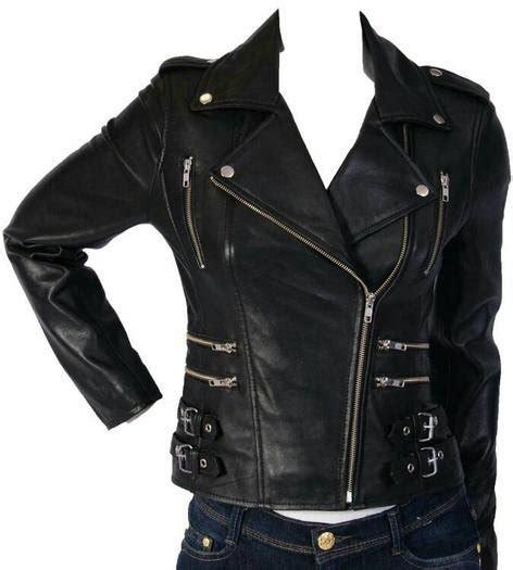 jual jaket kulit sintetis cewek bikers rock  roll
