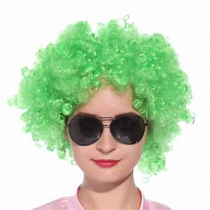 70s 80s Girls Mens Curly Afro Huge Costume Wigs Hair Party ...