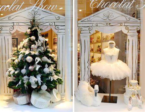 la plus vitrine de noel vitrines chocolat show