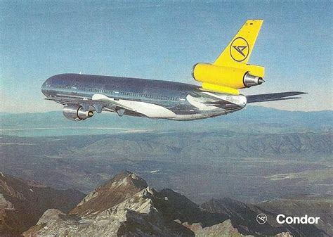 The traveler's drawer: CONDOR (Germany) DC 10 30 aircraft