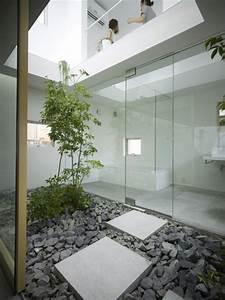 la decoration japonaise et l39interieur japonais en 50 photos With salle de bain design avec cailloux de décoration jardin