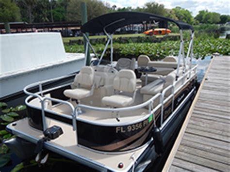 Pontoon Boat Rental Orlando by Pontoon Boat Rentals Florida Pontoon Boat Rentals St