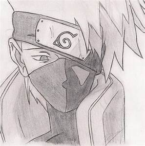 Kakashi sketch by Dakita on DeviantArt