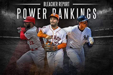 MLB Power Ranking: An Updated Look at Where All 30 Teams