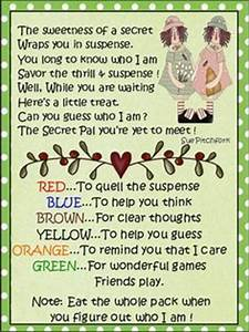 17 best Cards Secret pal images on Pinterest