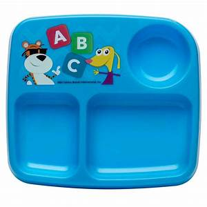 Baby Genius Kids Plates For Toddlers By Zak Designs