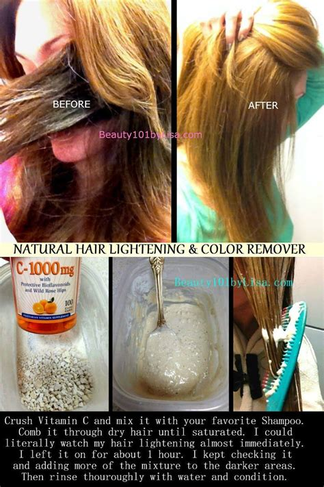 Diy At Home Natural Hair Lightening And Color Removal