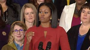 Michelle Obama makes emotional final speech as first lady ...