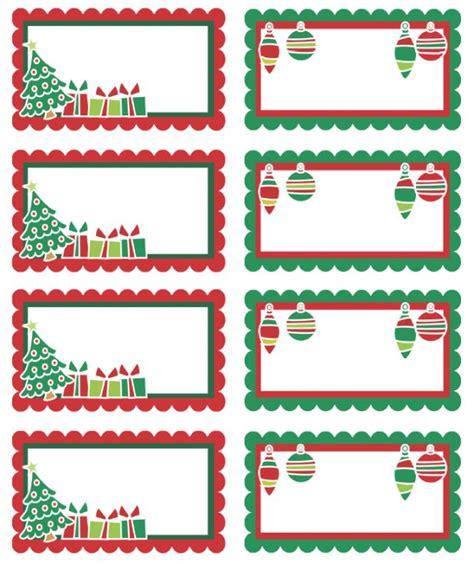 free printable adorable christmas holiday labels can use
