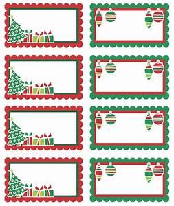 Free Printable Adorable Christmas Holiday Labels. Can use ...