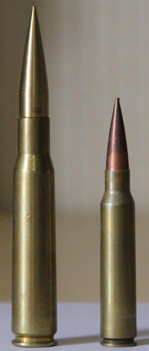 408 Cheytac Vs 50 Bmg 50 bmg cartridge next to a 408 cheytac cartridge