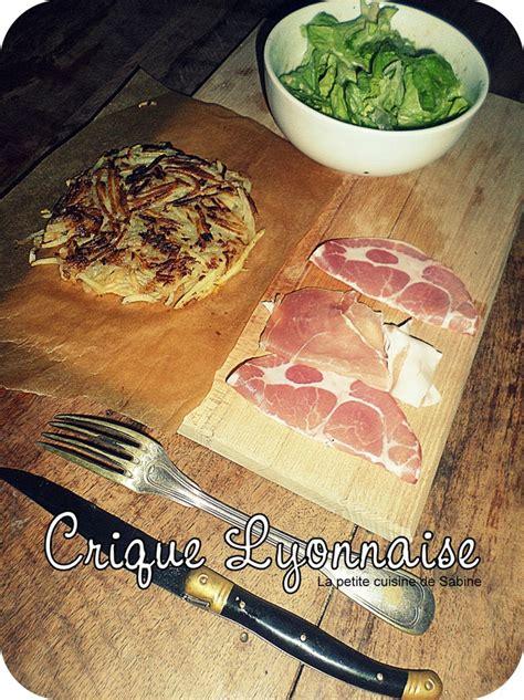 recette cuisine lyonnaise la crique lyonnaise rapide et pas cher recette sur