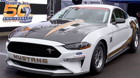 2018 Ford Mustang Cobra Jet 50th Anniversary Edition
