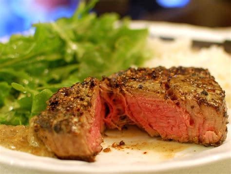 how to cook a filet mignon steak au poivre how to cook filet mignon steak in a pan the 350 degree oven