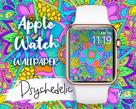 apple wallpaper psychedelic original for your