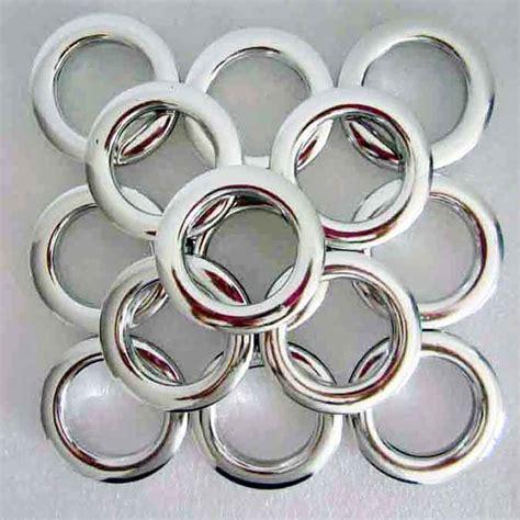 kopen wholesale zilveren gordijn ringen uit china