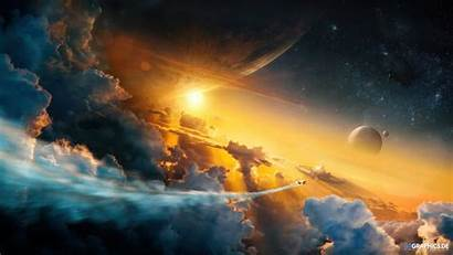 Wallpapers Space Edge Dawn Gtgraphics Sky Planet