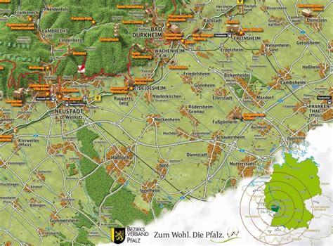 panoramakarte des naturparks pfaelzerwald neu aufgelegt